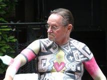 A parte de dia Bodypainting 3 57 de 2016 NYC Foto de Stock