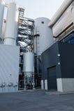 Parte de la central eléctrica industrial Imagen de archivo