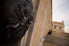 Parte de la escultura húngara Imagen de archivo libre de regalías