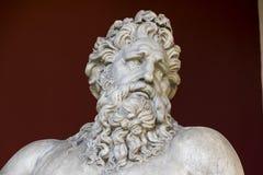 Parte de la estatua de dios Arno del río Fotografía de archivo