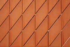 Parte de la fachada ametal de un museo Fotografía de archivo