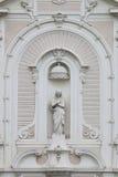 Parte de la iglesia de los les Augustins, Marsella, Francia del santo-Ferréol Fotografía de archivo libre de regalías
