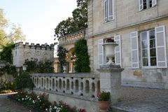 Parte de la mansión Imagenes de archivo