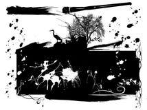 Parte de la naturaleza 2 Stock de ilustración