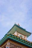Parte de la pagoda de Chua Ba, Chau doc. fotografía de archivo libre de regalías