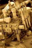 Parte de la plataforma de perforación Fotografía de archivo libre de regalías