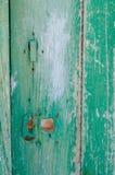 parte de la puerta de madera Foto de archivo libre de regalías