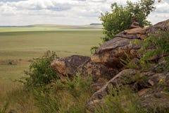 Parte de la roca Fotografía de archivo