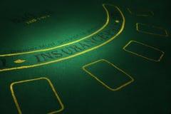 Parte de la tabla del póker Imagen de alta resolución Foto de archivo libre de regalías