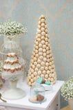 Parte de la tabla dulce elegante Fotografía de archivo libre de regalías