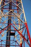 Parte de la torre de comunicación fotografía de archivo