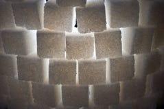 Parte de la torre del azúcar, primer, contraluz Fotos de archivo