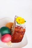 Parte de la torta de Pascua imagen de archivo libre de regalías