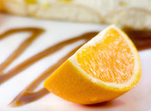 Parte de laranja Fotografia de Stock Royalty Free