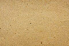 Parte de papel amarelado Imagens de Stock