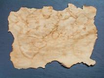 Parte de papel velho e de rolo de papel velho Imagem de Stock