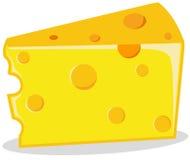 Parte de queijo Fotografia de Stock