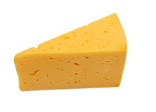 Parte de queijo fresco Foto de Stock