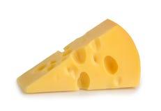 Parte de queijo isolada Imagens de Stock Royalty Free