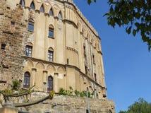 Parte de Royal Palace de Palermo, centro da reunião regional siciliano Palermo, Sicília, Italy imagens de stock royalty free