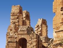Parte de ruinas del anfiteatro Imagen de archivo libre de regalías