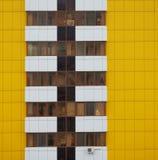 Parte de um edifício com indicadores Fotografia de Stock
