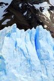 Geleira do Patagonia imagens de stock