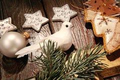 Parte de um Natal imagens de stock