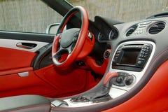Parte de um painel do carro Fotografia de Stock Royalty Free