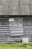 parte de uma construção abandonada velha fotos de stock royalty free