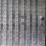 Parte de uma porta de um castelo velho japonês Imagem de Stock