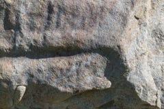Parte de un bloque de la pared de piedra Fotos de archivo