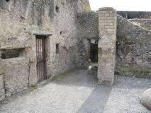 Parte de un castillo viejo Fotos de archivo