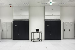 Parte de un centro de datos moderno Imágenes de archivo libres de regalías