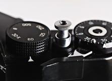 Parte de una cámara retra de la película Foto de archivo
