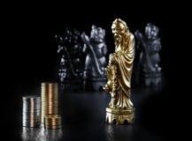 Parte de xadrez chinesa III foto de stock