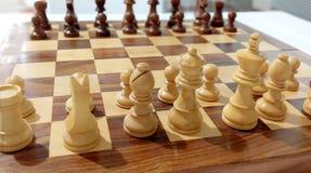 Parte de xadrez na placa de xadrez fotos de stock royalty free