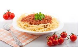 Parte degli spaghetti Fotografie Stock Libere da Diritti
