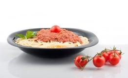 Parte degli spaghetti Immagini Stock