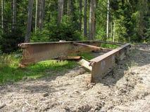 Parte dei lavoratori del legname Fotografia Stock Libera da Diritti