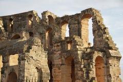 Parte del anfiteatro romano Foto de archivo libre de regalías