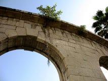 Parte del arco de piedra Fotografía de archivo libre de regalías