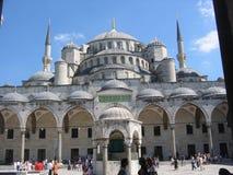 Parte del blu della moschea a Costantinopoli in Turchia Fotografia Stock Libera da Diritti