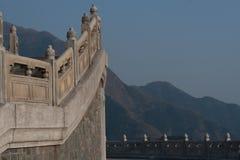 Parte del bordo di più grande Buddha del mondo in Hong Kong Fotografia Stock