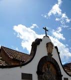 Parte del campo cercana a la red de la iglesia en Teror Imagenes de archivo