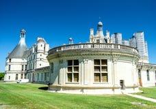 Parte del castello Chambord in Francia Fotografia Stock Libera da Diritti