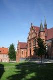 Parte del castillo en Olsztyn Foto de archivo