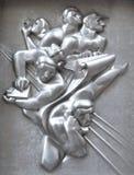 Parte del centro di Rockefeller, Manhattan, NYC Immagini Stock Libere da Diritti