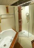 Parte del cuarto de baño moderno Fotos de archivo libres de regalías