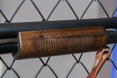 Parte del fucile da caccia Fotografie Stock